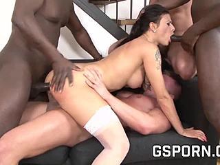 Interracial Berühmtheit Sex Tape